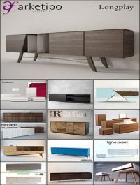 Modern Sideboard and Chest of Drawer