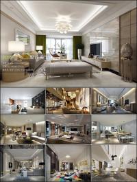 Modern Style Livingroom 3D66 Interior 2015 Vol 1