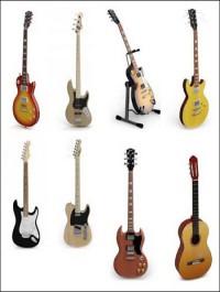 Guitar 3D models