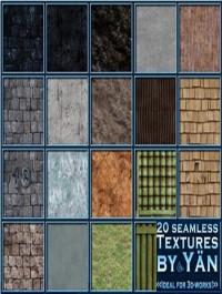 Seamless Textures Wood Stone Stucco