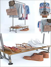 A Set of Clothing and Footwear