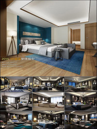Modern Bedroom Style 3D66 Interior 2015 Vol 4