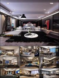 Modern Bedroom Style 3D66 Interior 2015 Vol 8