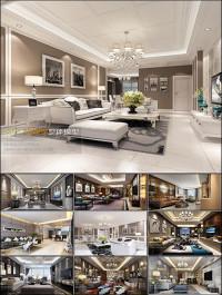 Modern Style Livingroom 3D66 Interior 2015 Vol 10