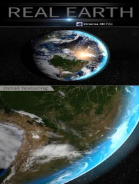 3docean Real Earth