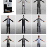 DOSCH DESIGN 3D Animated Humans for Cinema4D