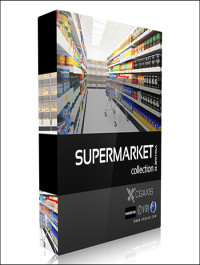 CGAxis Models Volume 32 Supermarket