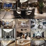 Modern Kitchen & Restaurant Style 3D66 Interior 2015 vol 2