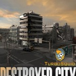 Turbosquid 3D Model: Destroyed City Blocks