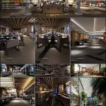 Resteraunt House Cafe 3D66 Interior 2015 Vol 8
