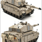 Challenger II British MBT Main Battle Tank