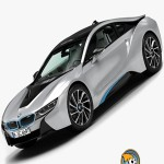 Turbosquid BMW i8 2015 Max Vray