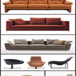 ... B&B Italia Furniture 3D Models for Interior Design