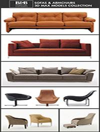 b b italia furniture 3d models for interior design