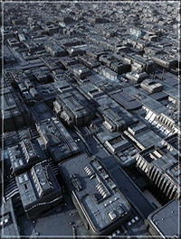 Greeble City Blocks VOL 01 Converted to C4D