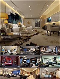 Suites Hotel 3D66 Interior 2015 Vol 3