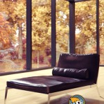 TurboSquid Happy Dormeuse Lounge Chair