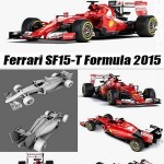 CGTrader 3D MODELS Ferrari SF15-T Formula 2015