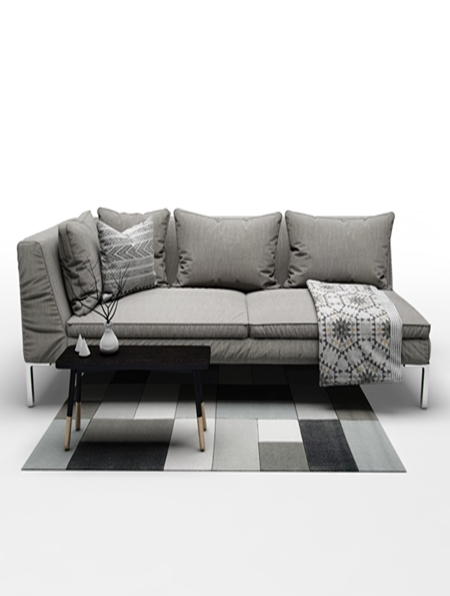 sofa b b italia charles. Black Bedroom Furniture Sets. Home Design Ideas