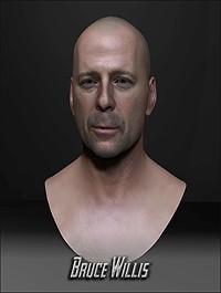 Bruce Willis 3D Bust