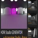 Mustapha Fersaoui HDRi Studio GENERATOR for Cinema 4D