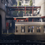 UE4 Marketplce Subway Environment