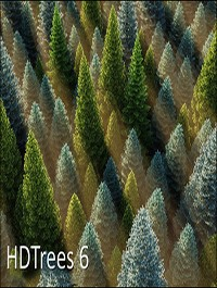 HD Trees vol.6 for Cinema4D