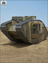 Mark V Obj Max C4d