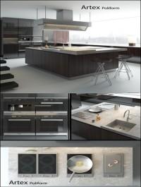 Kitchen Poliform Varenna Artex 2