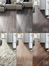 Wood floor collection