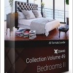 CGAxis Models Volume 49 3D Bedrooms II