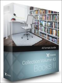 CGAxis Models Volume 43 Books II + Render Scene