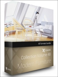 CGAxis Models Volume 48 Modern Furniture