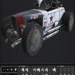 Rusky Car fbx obj spp