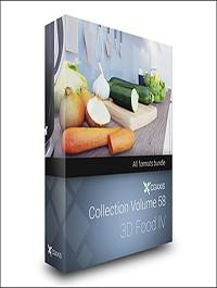 CGAxis Models Volume 58 3D Food IV