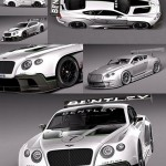 3d Model Bentley Continental GT3 2014 RaceCar