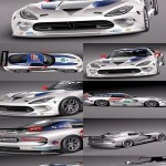 3d Model Dodge Viper GTS-R 2013 Race car