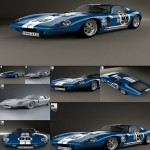 Hum3D 3d Model Shelby Cobra Daytona 1964