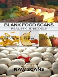 Blanc Realistic Scanned Food 3D Models