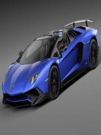 Lamborghini Aventador LP750 4 3D Model