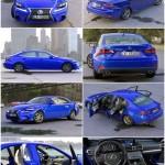 Lexus IS F Sport 2016 3D Model