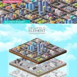 Low Poly Megapolis City Pack 3D Models