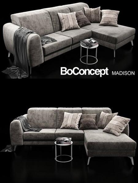 Sofa boconcept madison 3d model - Boconcept mobel ...