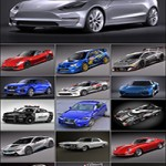 Collection of nice car models IV