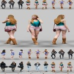 6 Realistic Female Characters Vol 1
