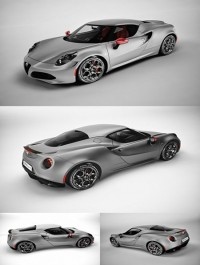 Alfa Romeo 4C Launch Edition 3d Model