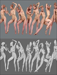 Female 03 Pose Pack