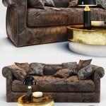 Sofa Baxter Alfred Soft 3D Model