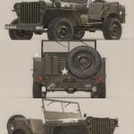 US Army Willys Jeep B