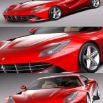 Ferrari F12 Berlinetta 2013-2016 3d Model